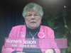 Elaine B. Holtz, Host of Women's Spaces Show, filmed 2/3/12