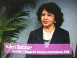 Valerie Bocage, CEO, PWI, on Women's Spaces Show filmed 3/16/2102
