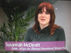 Susannah McDevit on Women's Spaces Show filmed 4/13/2012