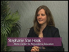 Stephani Van Hook on Women's Spaces Show filmed 5/11/2012