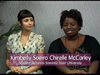 Chirelle McCorley a Kimberly Soeiro on Women's Spaces Show filmed 8/10/2012
