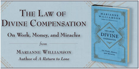 Divine Compensation book cover by Marianne Williamson