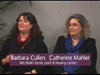 Barbara Cullen & Catherine Mahler on Women's Spaces Show filmed 12/21/2012