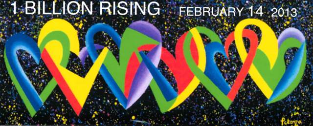 Hearts of the World by Potenza for One Billion Rising event 2/14/13