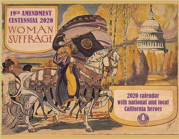 NOW 2020 Woman Suffrage Centennial Calendar