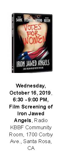 Iron Jawed Angels screening