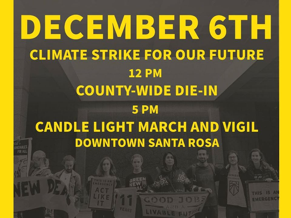 Climate Strke for Our Future Dec. 6, 2019