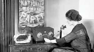 Alice Paul at New National Party