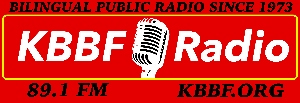 KBBF-FM 89.1 logo and link to its website